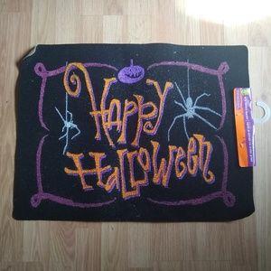 Other - 3/$20! Happy Halloween Door Mat